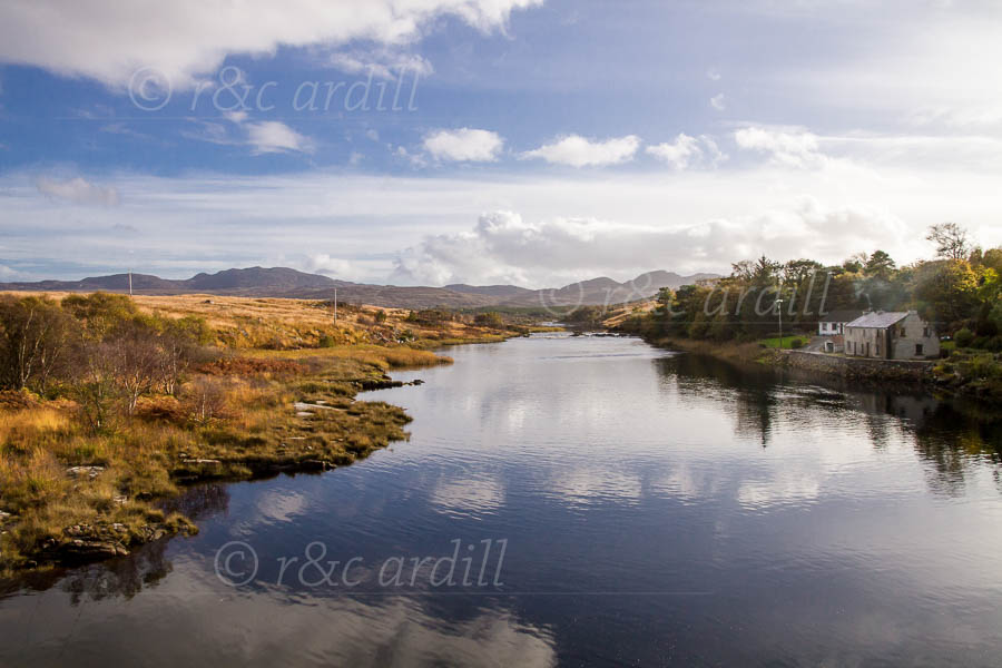 Photo of Donegal View from Lackagh Bridge - D16957
