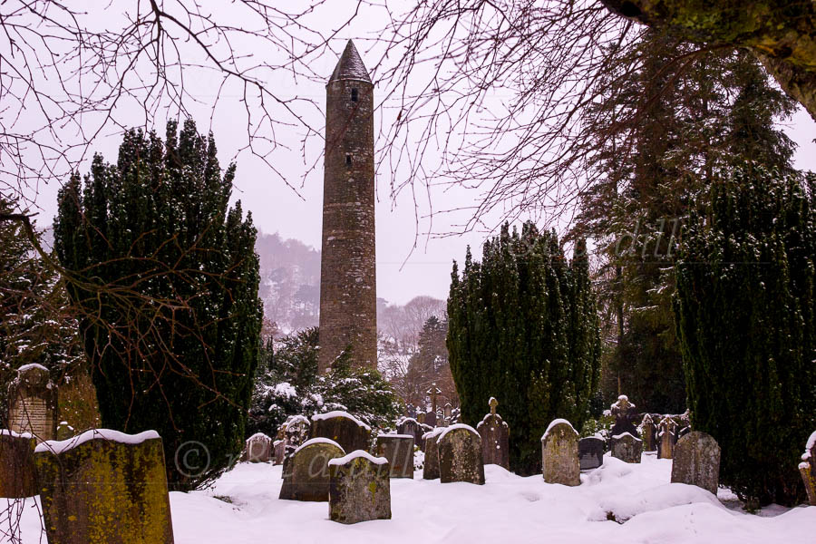 Photo of Wicklow Glendalough Round Tower - M23360