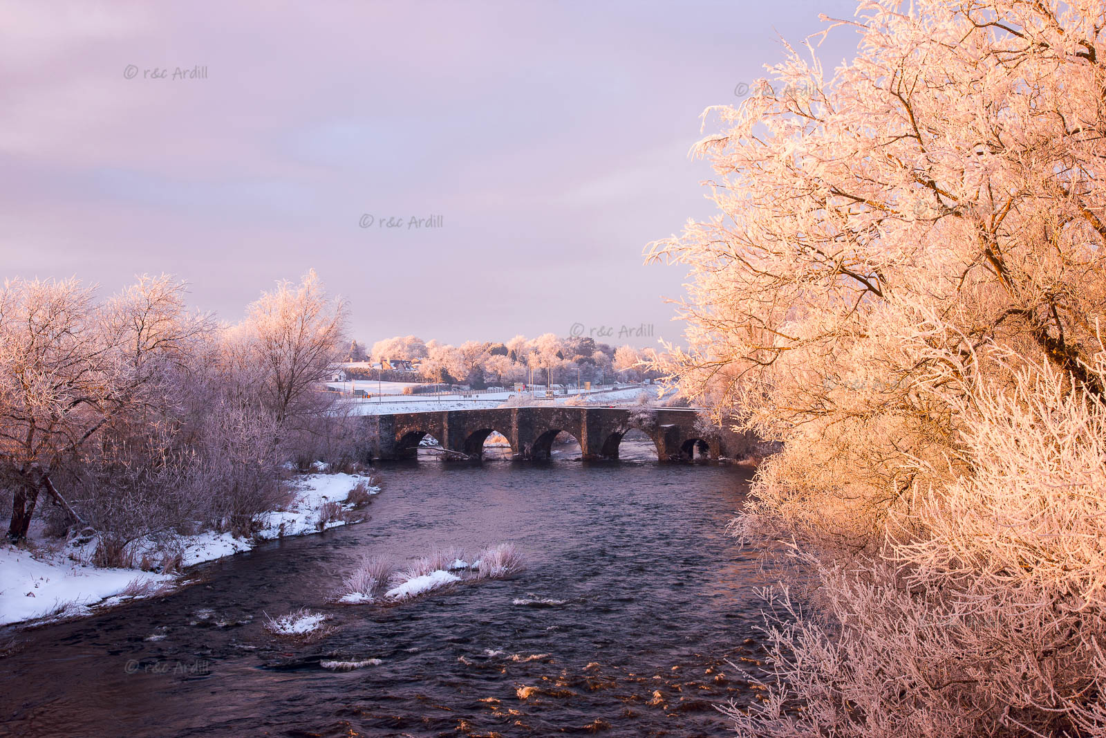 Photo of Meath Kilcarn Bridge in Snow - T13757