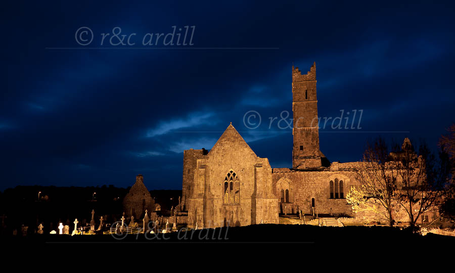 Photo of Clare Quin Abbey - T26809