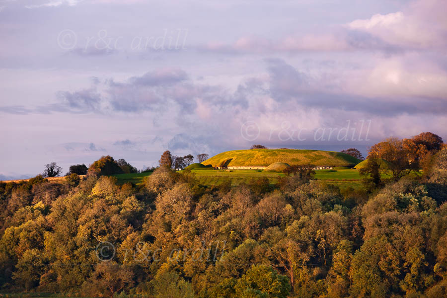 Photo of Meath Knowth at Sunset - T29174