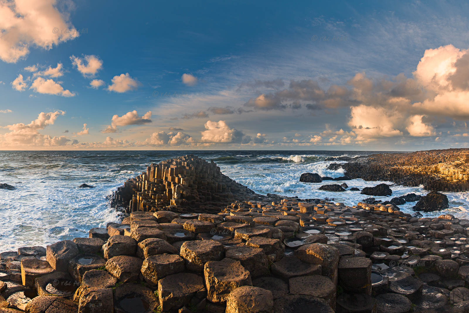 Photo of Antrim Giants Causeway Evening - T39248
