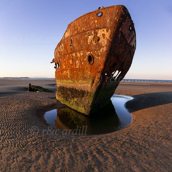Photo of Louth Baltray Boat Wreck - T43544