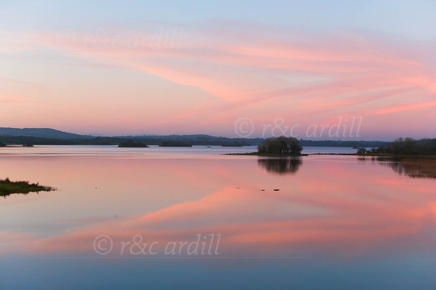 Photo of Cavan Lough Ramor Sunset - W21060