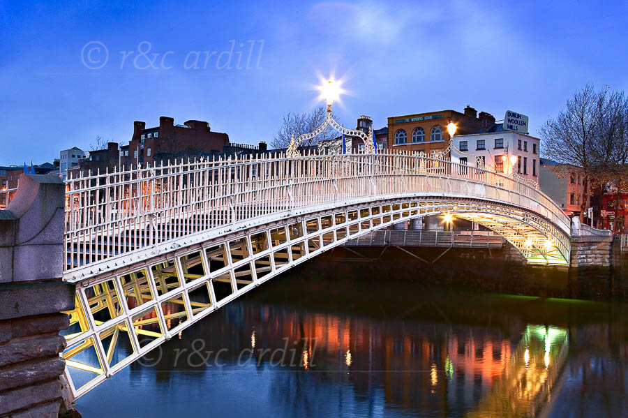 Photo of Dublin Hapenny Bridge - W24816