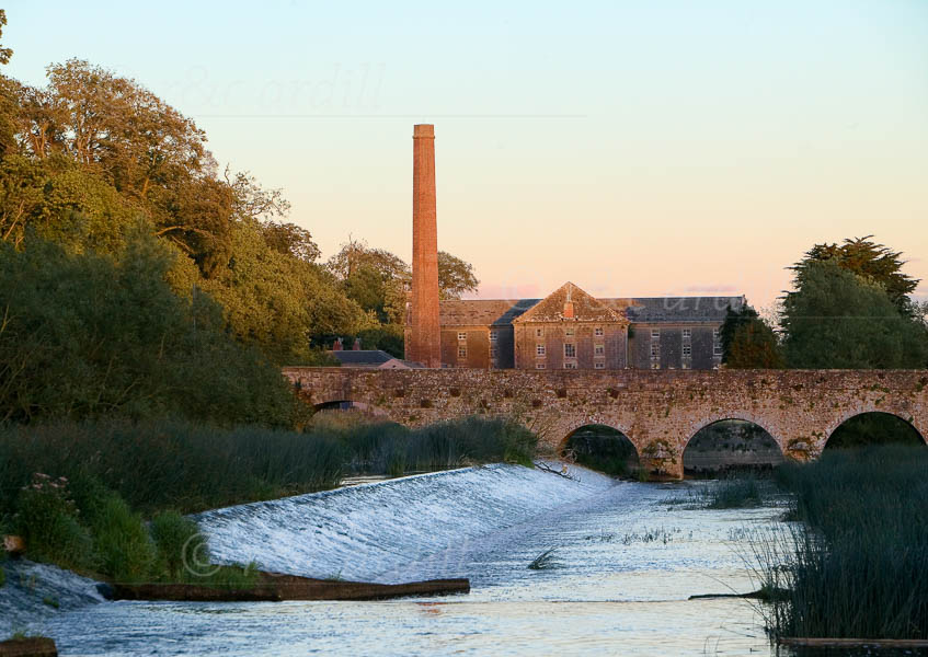 Photo of Slane Weir Bridge Mill - W28414