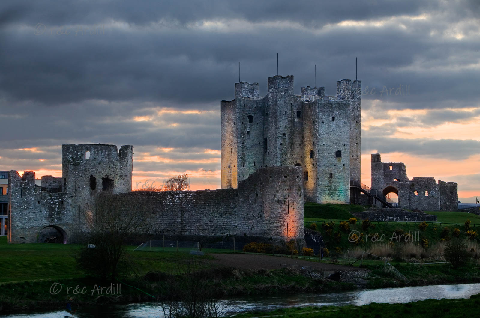 Photo of Trim Castle at Sunset - W31035