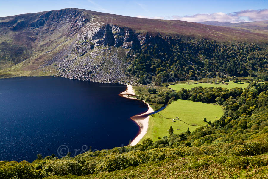 Photo of Wicklow Lough Tay - W32313