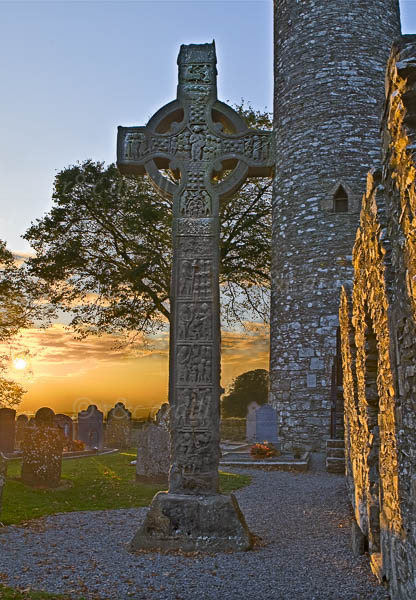 Photo of Louth Monasterboice Cross - W39320