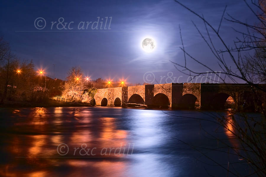 Photo of Meath Kilcarn Bridge Moonlight - W40144