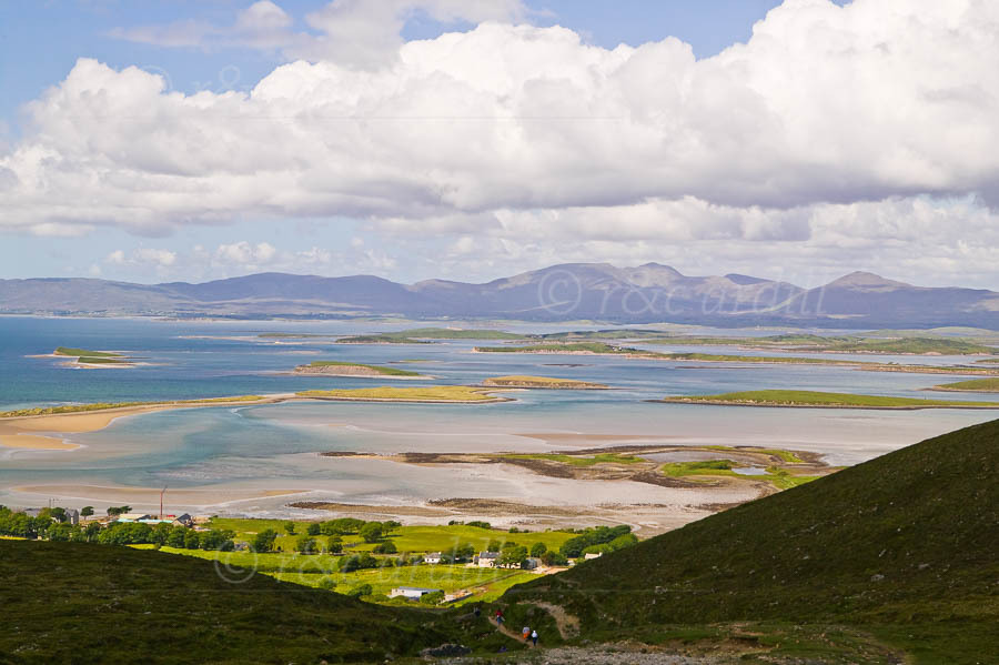 Photo of Clew Bay from Croagh Patrick - W43174
