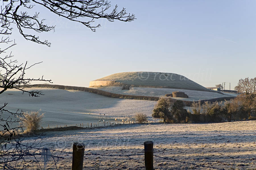 Photo of Boyne Newgrange Winter Morning - W44627