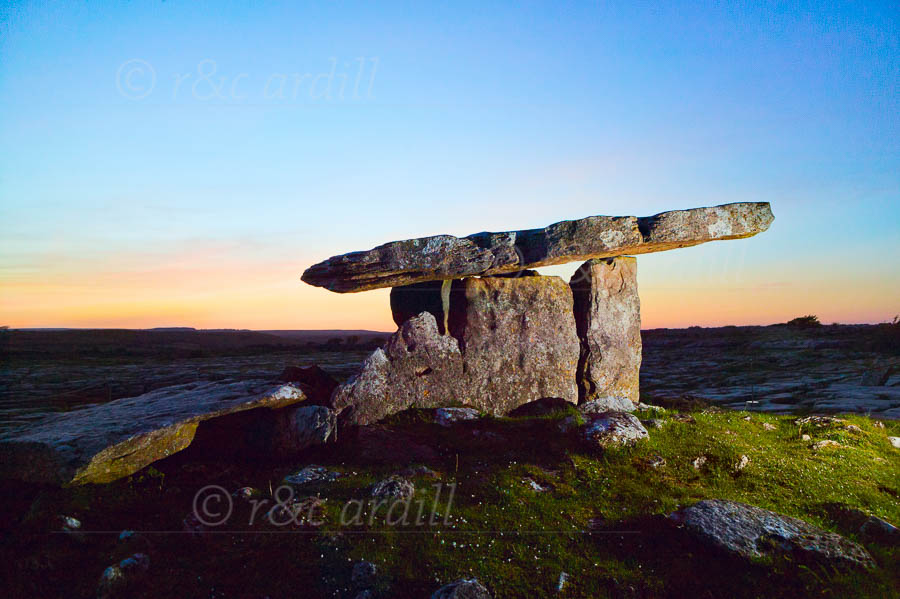 Photo of Clare - Poulnabrone Dolmen - W47626