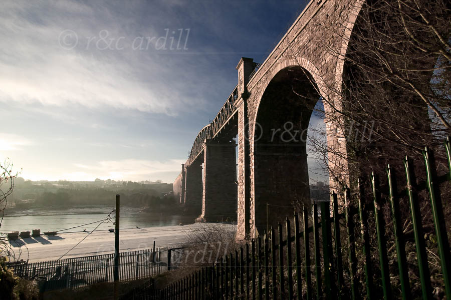 Photo of Drogheda Boyne Viaduct - W50889
