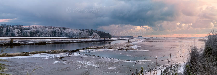 Photo of Louth Boyne Estuary in Winter - W52310