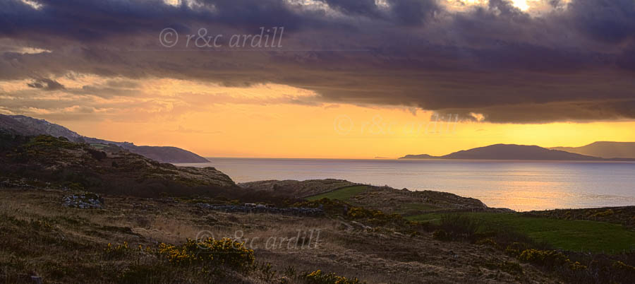 Photo of Bantry Bay at Sunset - W54572