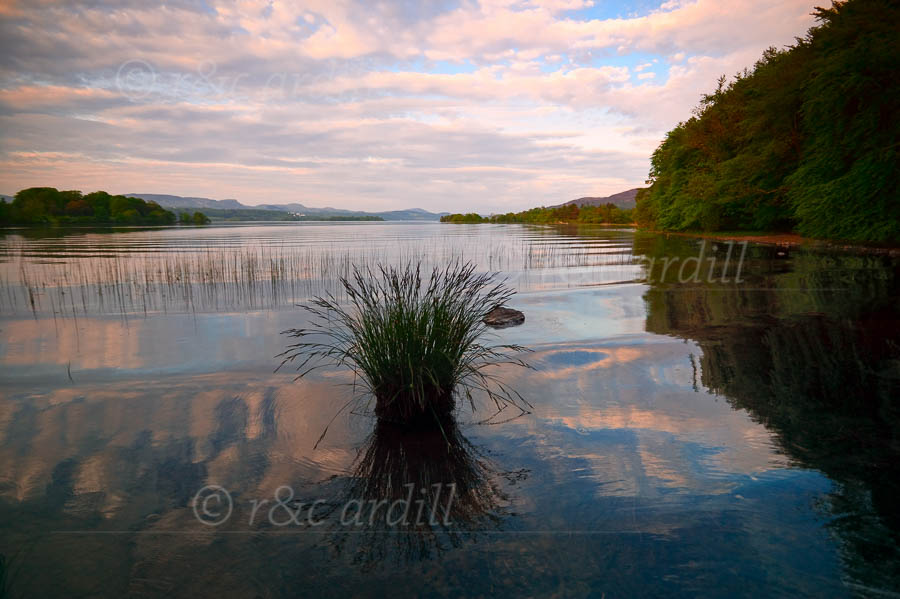 Photo of Lough Gill at Sunset - W60503