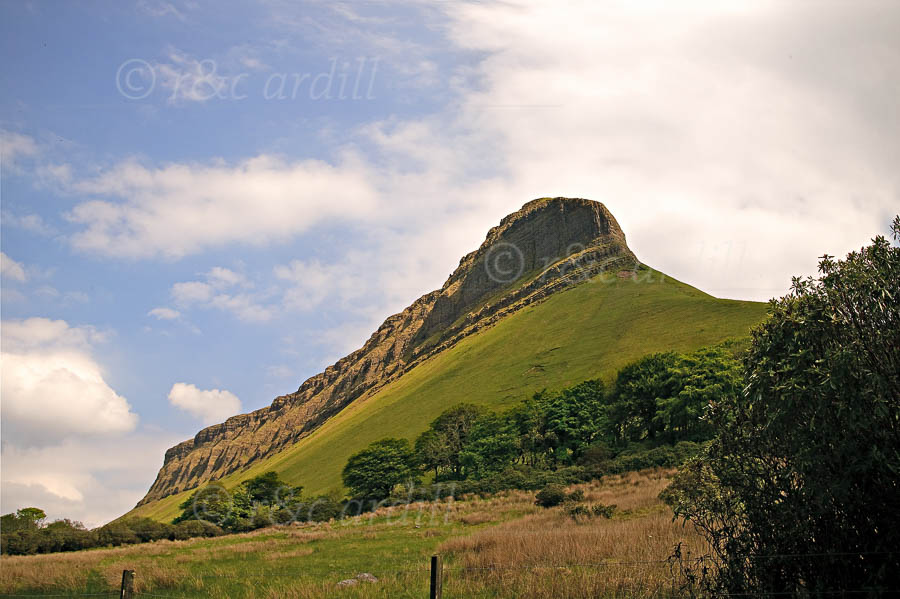 Photo of Ben Bulben North Face - W60954