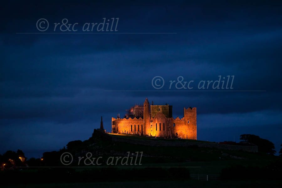 Photo of Rock of Cashel at night - X69333