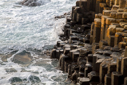 Photograph of Antrim Giants Causeway Evening - D12535