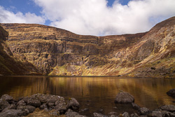 Photograph of Waterford Coumshingaun Lake - D14196