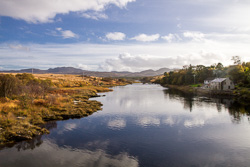 Photograph of Donegal View from Lackagh Bridge - D16957