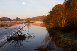 Photograph of Meath Slane Weir Early Morning - M0002