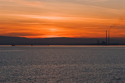 Photograph of Dublin Bay at Sunset - M01817