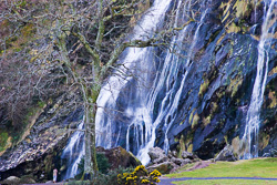 Photograph of Wicklow Powerscourt Waterfall - M02628