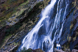 Photograph of Wicklow Powerscourt Waterfall - M02661