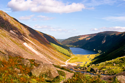 Photograph of Wicklow Glendalough Upper Lake - M17981