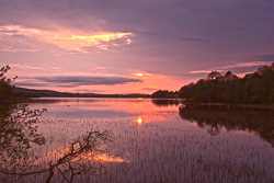 Photograph of Sligo Lough Arrow Sunset - M25769