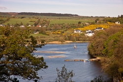 Photograph of Clare Lough Derg in April - T25795