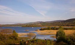 Photograph of Clare Lough Derg in April - T25804