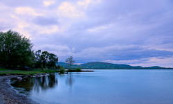 Photograph of Clare Lough Derg at Sunset - T26881