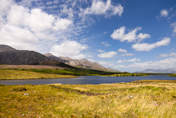 Photograph of Connemara Lough Inagh - T27654