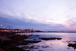Photograph of Dublin Dun Laoghaire at Sunset - T29055