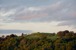 Photograph of Meath Knowth at Sunset - T29137