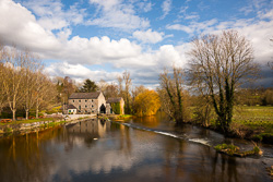 Photograph of Kilkenny Kells Weir and Mill - T40359
