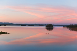 Photograph of Cavan Lough Ramor Sunset - W21060