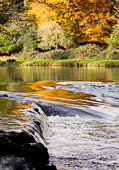 Photograph of Boyne Autumn Reflections - W23926