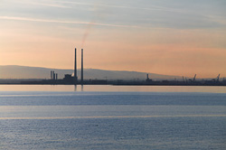 Photograph of Dublin Bay at Sunset - W24272