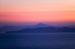 Photograph of Dublin Bay at Sunset - W24360