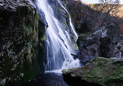 Photograph of Wicklow Powerscourt Waterfal - W25115