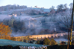 Photograph of Meath Slane Bridge and Hill - W25564