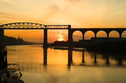 Photograph of Drogheda Boyne Viaduct - W30639