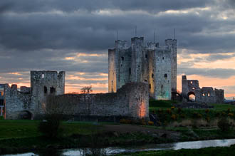 Photograph of Trim Castle at Sunset - W31035