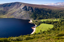 Photograph of Wicklow Lough Tay - W32313