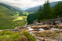 Photograph of Wicklow Glenmacnass - W32557
