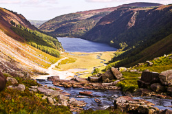 Photograph of Wicklow Glendalough Upper Lake - W32776